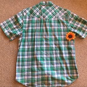 Zoo York Shirts - Zoo York green plaid shirt
